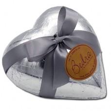 coração 200 gramas prata