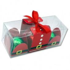 caixa natal  3 bombons