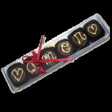 caixa trufas amor