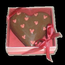 caixa coração 120gramas