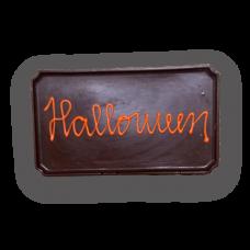 placa M halloween