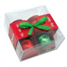 caixa natal 4 bombons