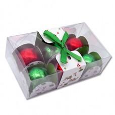 caixa natal 6 bombons